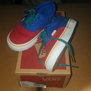Vans colorblock toddler 6c